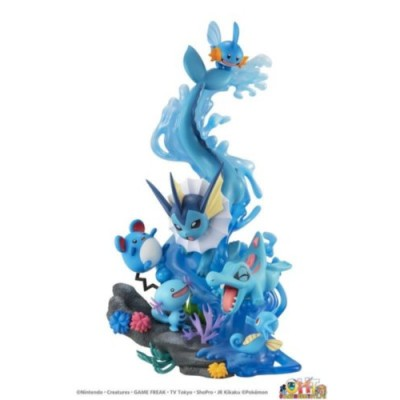 G.E.M.EX POKEMON WATER TYPE/DIVE TO BLUE(WITH GIFT)