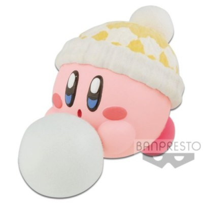 KIRBY FLUFFY PUFFY MINE PLAY IN THE SNOW (A:KIRBY)