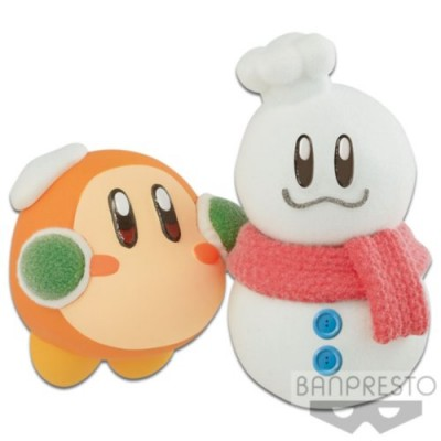 KIRBY FLUFFY PUFFY MINE PLAY IN THE SNOW (B:WADDLE DEE)