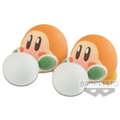 KIRBY FLUFFY PUFFY MINE PLAY IN THE SNOW (C:WADDLE DEE)