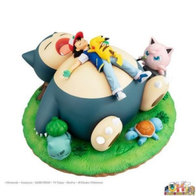 G.E.M. POCKET MONSTER A NAP WITH SNORLAX[WITH GIFT]