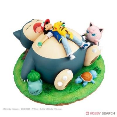 G.E.M. POCKET MONSTER A NAP WITH SNORLAX