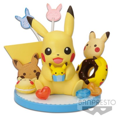 POKEMON TEA PARTY PIKACHU FIGURE SWEETS COLLECTION