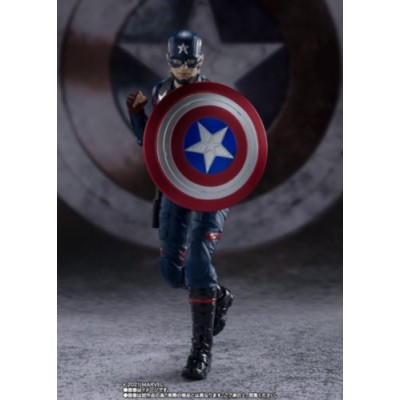 S.H.FIGUARTS CAPTAIN AMERICAN (JOHN F. WALKER) (THE FALCON AND THE WINTER SOLDIER)